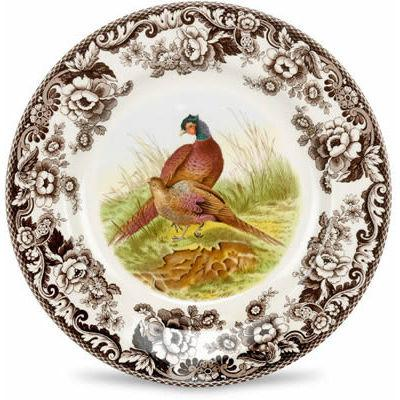 Spode Woodland Plate 27cm Pheasant