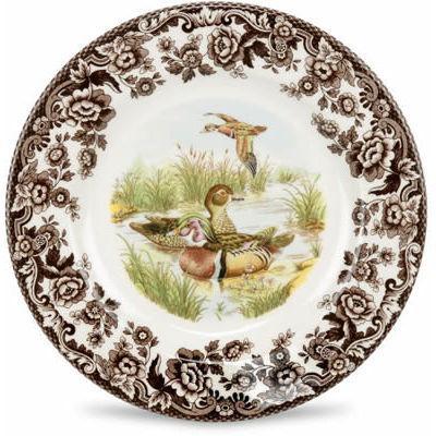 Spode Woodland Plate 27cm Wood Duck