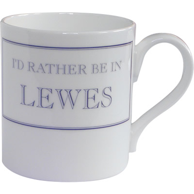 Stubbs Mugs I'd Rather Be In Lewes Mug Large