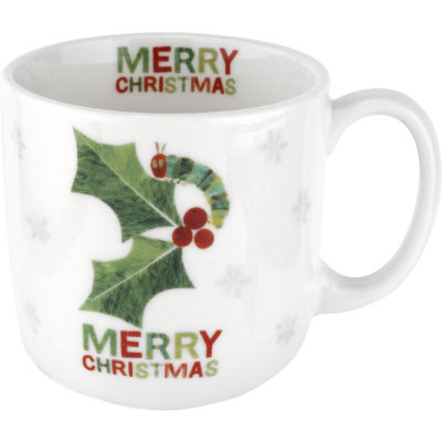 The Very Hungry Caterpillar Mug Merry Christmas