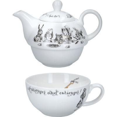 Victoria and Albert Museum Alice In Wonderland Tea For One Teapot