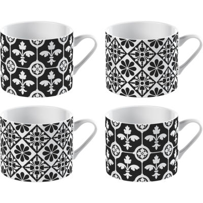 Victoria and Albert Museum Mug Collection Espresso Mug Encaustic Tiles Set of 4