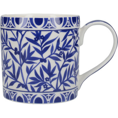 Victoria and Albert Museum The Cole Collection Mug Can Floral Geo White