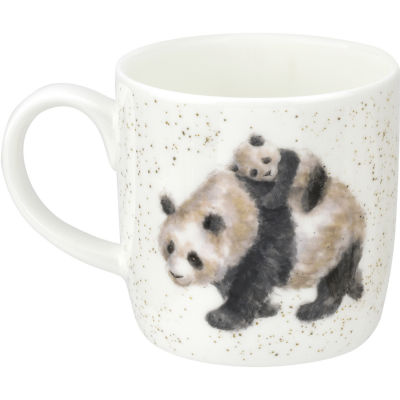 Wrendale Bamboozled Panda Mug