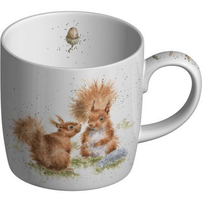 Wrendale Between Friends Squirrel Mug