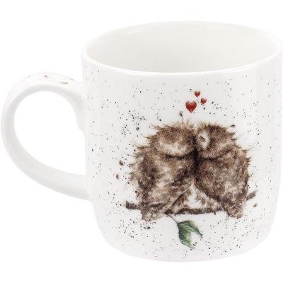 Wrendale Birds Of A Feather Owl Mug