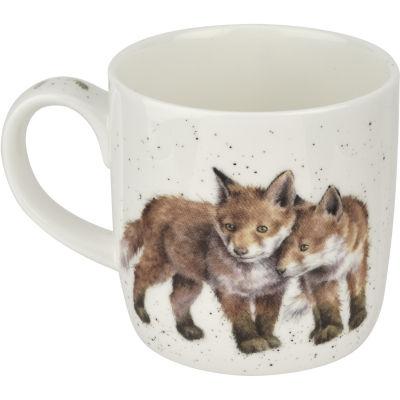Wrendale Giftware Born To Be Wild Fox Mug