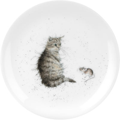 Wrendale Cat & Mouse Plate 20cm
