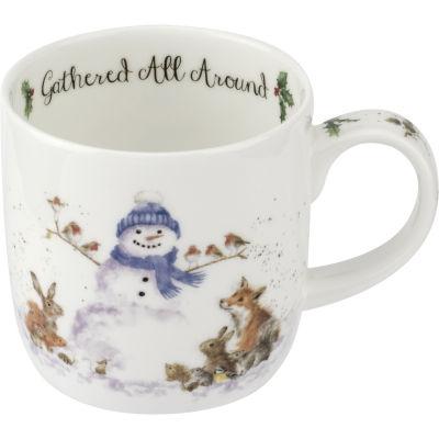 Wrendale Christmas Gathered All Around Mug