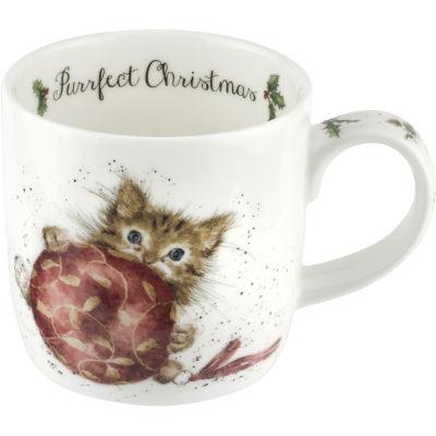 Wrendale Christmas Purrfect Christmas Mug