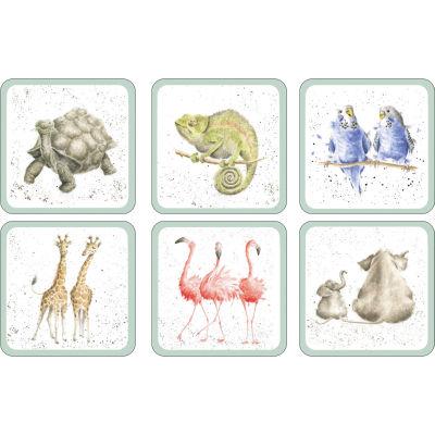Wrendale Coaster Set of 6 Wrendale Zoological