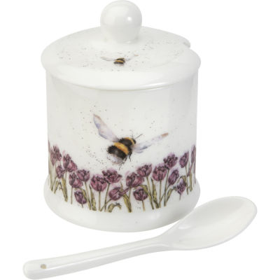 Wrendale Conserve Pot & Spoon Bumble Bee