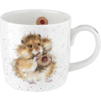 Wrendale Giftware Diet Starts Tomorrow Hamster Mug