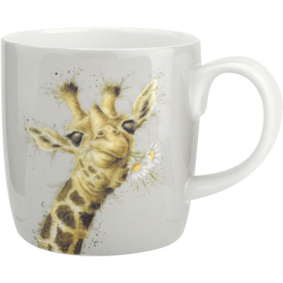 Wrendale Giftware Flowers Giraffe Large Mug