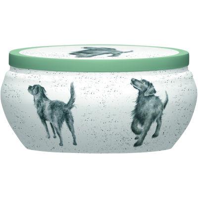Wrendale Fragranced Candle Tin Labrador Walkies