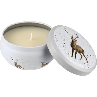 Wrendale Fragranced Candle Tin Stag Wild At Heart