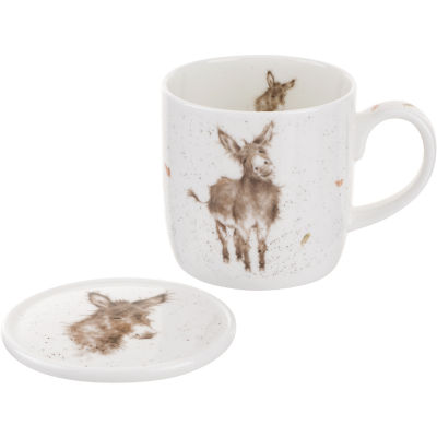 Wrendale Gentle Jack Mug & Coaster Set