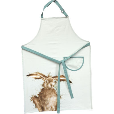 Wrendale Giftware Apron Cotton Drill Wrendale Hare