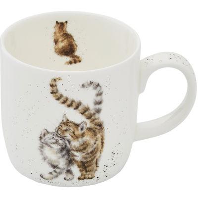 Wrendale Giftware Feline Good Cat Mug