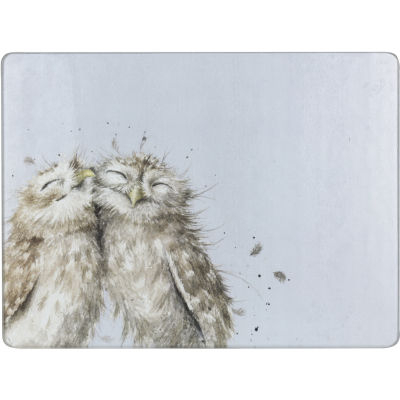 Wrendale Glass Worktop Saver Owl