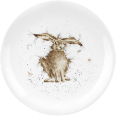 Wrendale Hare Brained Hare Plate 20cm