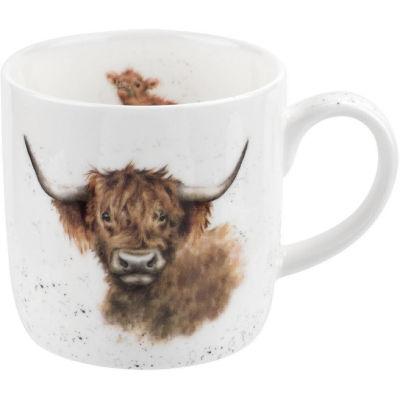 Wrendale Highland Coo Cow Mug