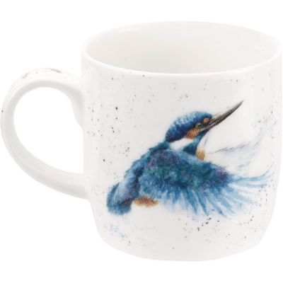 Wrendale King Of The River Kingfisher Mug