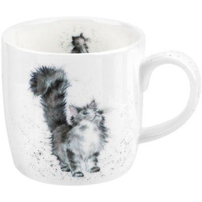 Wrendale Lady of the House Cat Mug