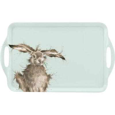 Wrendale Large Tray Wrendale Hare