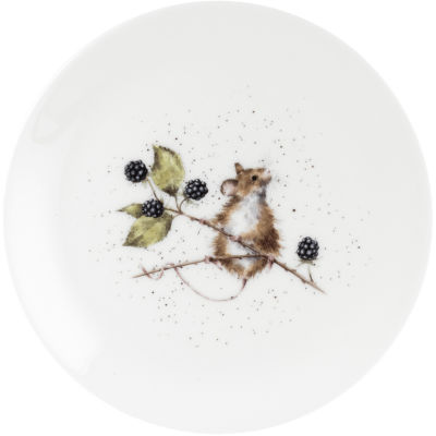 Wrendale Giftware Mouse Side Plate 20cm