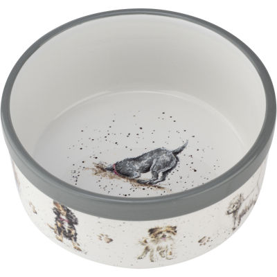 Wrendale Giftware Pet Bowl Dogs Small 15cm