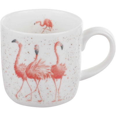 Wrendale Pink Ladies Flamingo Mug