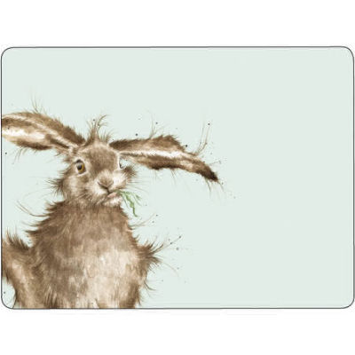 Wrendale Placemat Set of 6 Wrendale Hare