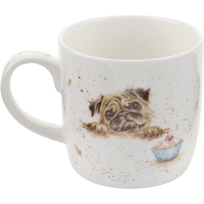 Wrendale Pug Love Dog Mug