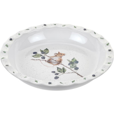 Wrendale Round Pie Dish 27cm Mouse