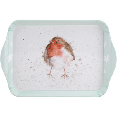 Wrendale Christmas Scatter Tray Robin