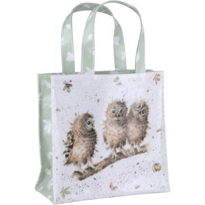 Wrendale Shopping Bag Small You First Owls