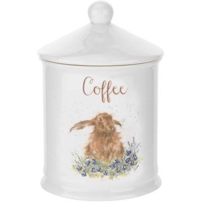 Wrendale Giftware Storage Jar Coffee Hare