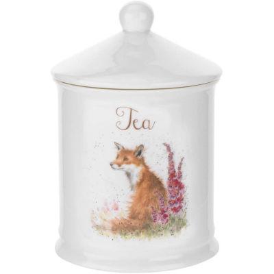Wrendale Storage Jar Tea Fox