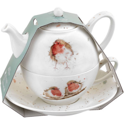 Wrendale Tea-For-One Robins