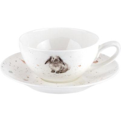 Wrendale Teacup & Saucer Rabbit