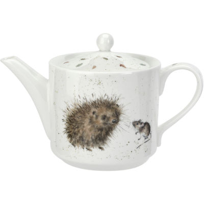 Wrendale Teapot Small Hedgehog & Mice