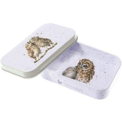 Wrendale Tinware Keepsake Mini Tin Birds Of A Feather Owl