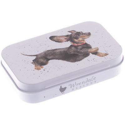 Wrendale Tinware Keepsake Mini Tin That Friday Feeling Dog