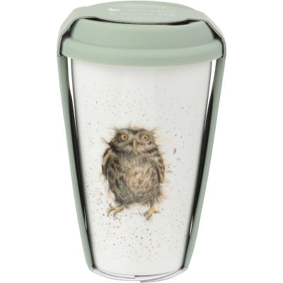 Wrendale Travel Mug 0.3L Owl