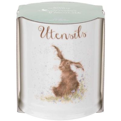 Wrendale Utensil Jar Hare