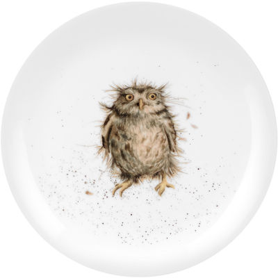 Wrendale What A Hoot Owl Side Plate 20cm