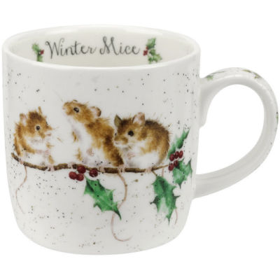 Wrendale Christmas Winter Mice Mice Mug