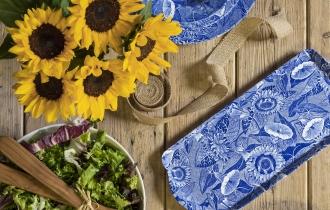 Blue Room Sunflower